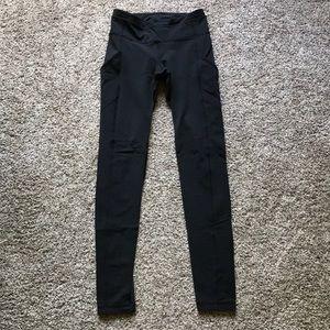 Full length Lululemon leggings w/ mesh paneling